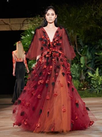 Clifford New York Fashion Week fall 2015 Christian Siriano March 2015 Look 26