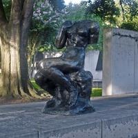 Rodin sculpture Fonderie de Coubertin at Museum of Fine Arts Houston