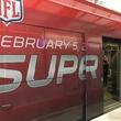 METRO light rail in Super Bowl skin