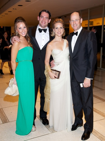 7 Dagney Pruner, from left, Robert McEwan and Alexadra and Dave Pruner at the New York Philharmonic Opening Night October 2013