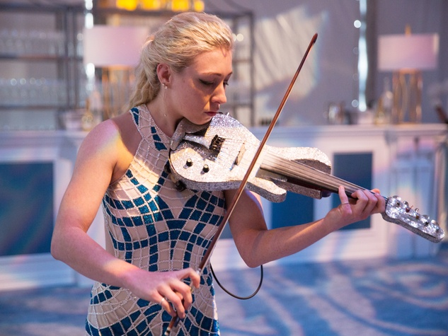 Violinist at Dallas Art Ball 2017