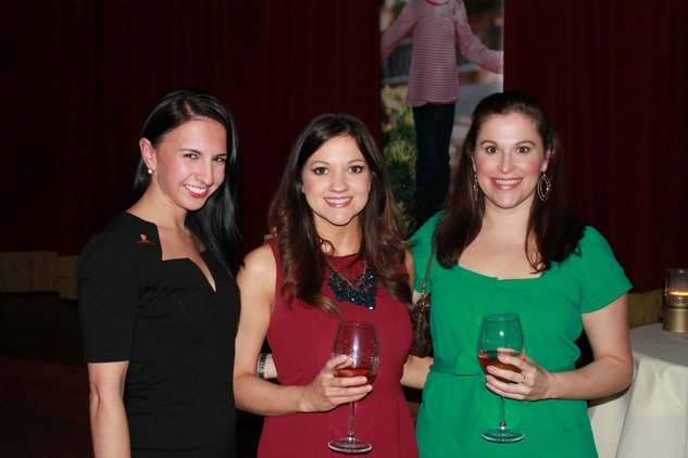 Laura Neiman, from left, Amberly Sheppard and Lyndsey Sawyer at the Friends of St. Jude Spring Happy Hour March 2015