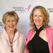 Komen pink party Jane Hilfer, Kathryn Hillhouse