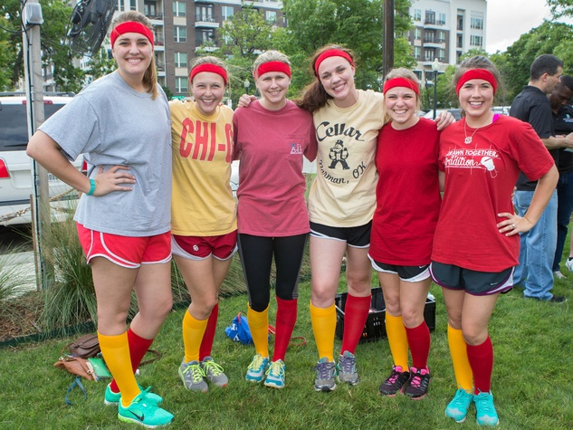 """Ten Points for Gryffindor""  - Taylor Newcomb, Kristin Pascoe, Lydia Pettit, Danna Callahan, Erin Bret, Katharine Bain"