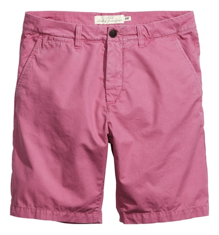 Pastel shorts from H&M