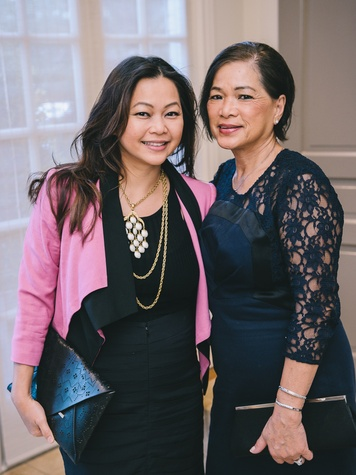 16 Drybar launch event September 2013 Chloe Dao, Hue Luong
