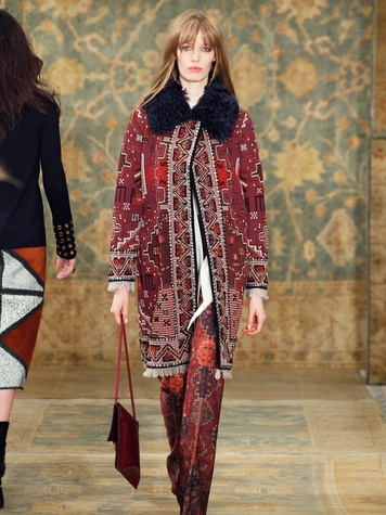 Clifford Fashion Week New York fall 2015 Tory Burch March 2015 Look 21