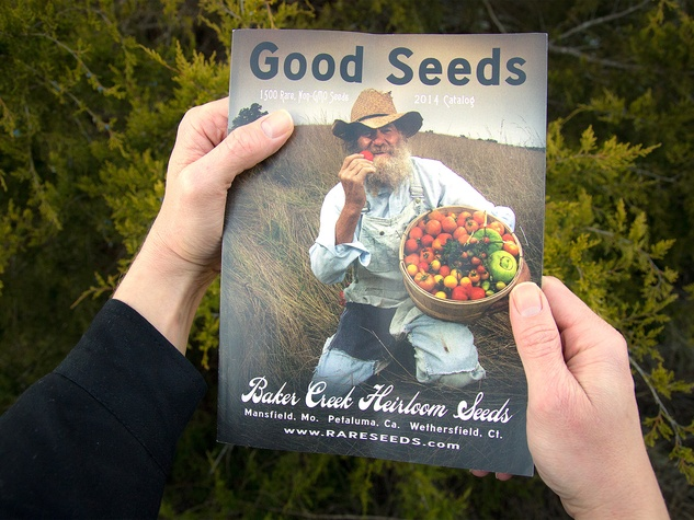 Baker Creek Heirloom Seed 2014 catalog