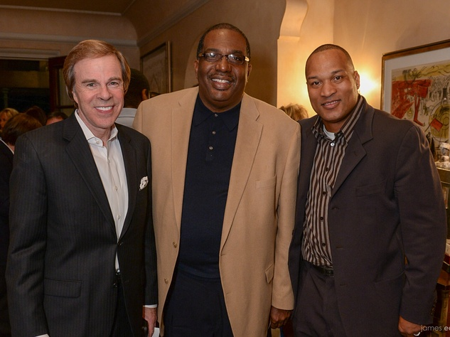 Scott Murray, Senator Royce West, Larry Brown, Emmitt Smith Kickoff