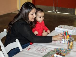 Kids crafts, 2017 CultureMap Holiday Pop-up
