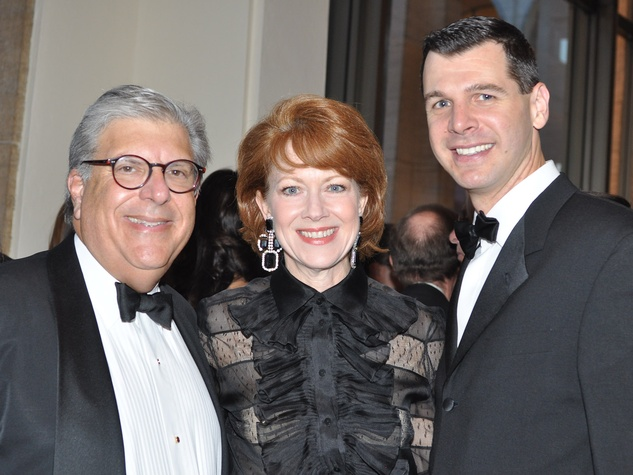 19 Tom and April Lykos, from left, with Mark Hanson at the New York Philharmonic Opening Night October 2013