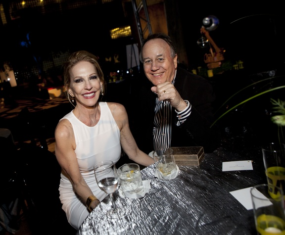 Claire and Doug Ankenman at the Glassell School benefit and auction May 2014