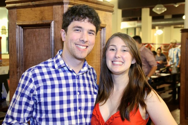 42 Eric Tenenbown and Elizabeth Blumberg at the Houston Area Women's Center Young Leaders Independence Day Bash July 2014