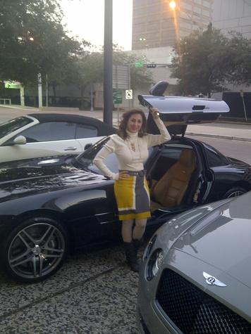 Deborah Elias favorite things, December 2012, T-tops, car