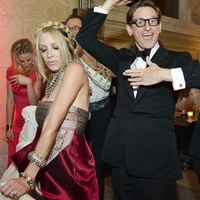 Louvre after party Gela Nash-Taylor and Hamish Bowles June 2013