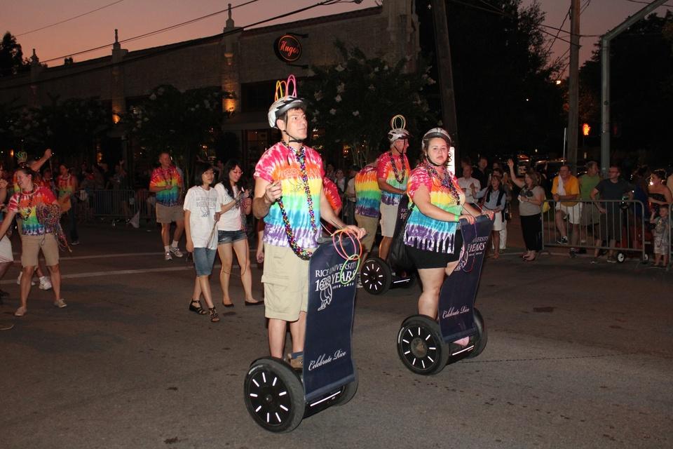 Gay Pride Parade, Rice University, June 2012