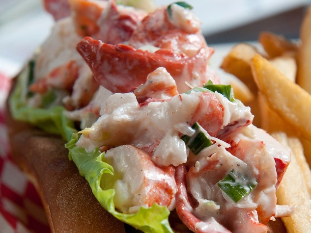 Maine-ly Sandwiches lobster roll lobster sandwich