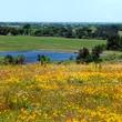 Texas Ranch Life lakehouse view