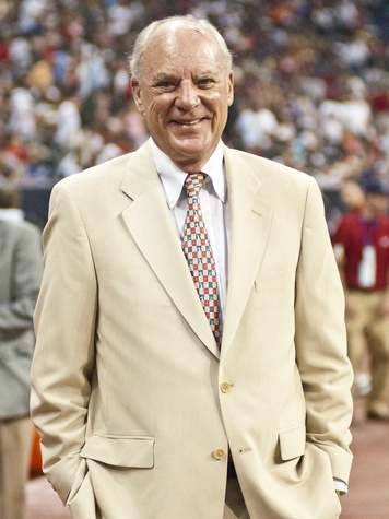 Bob McNair tan jacket