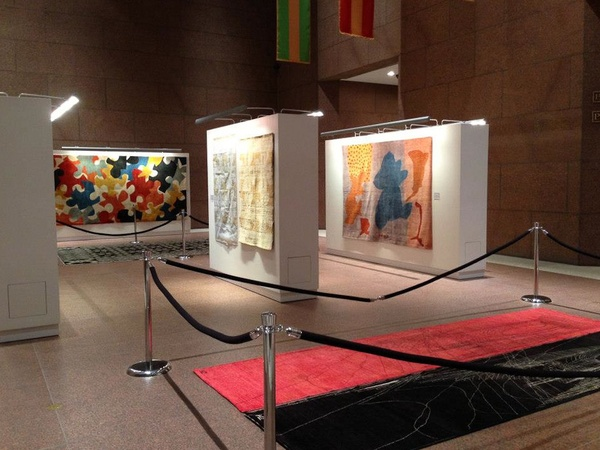  ARZU Studio Hope, rug exhibit, Bank of America, February 2013