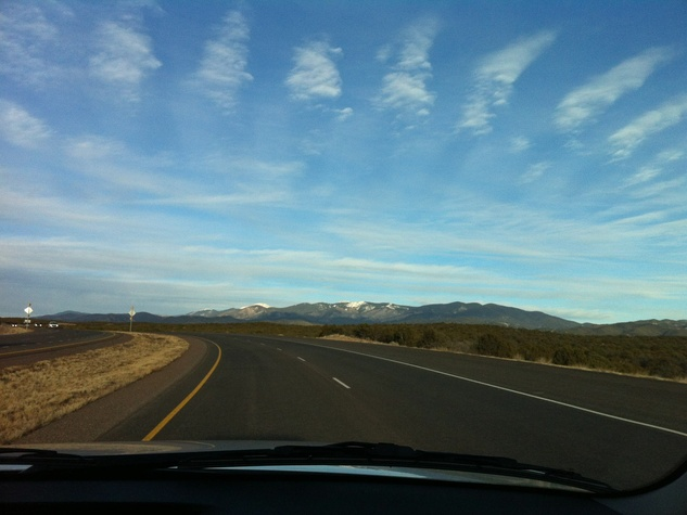 01, Marlo Saucedo, Taos, New Mexico, February 2013, drive