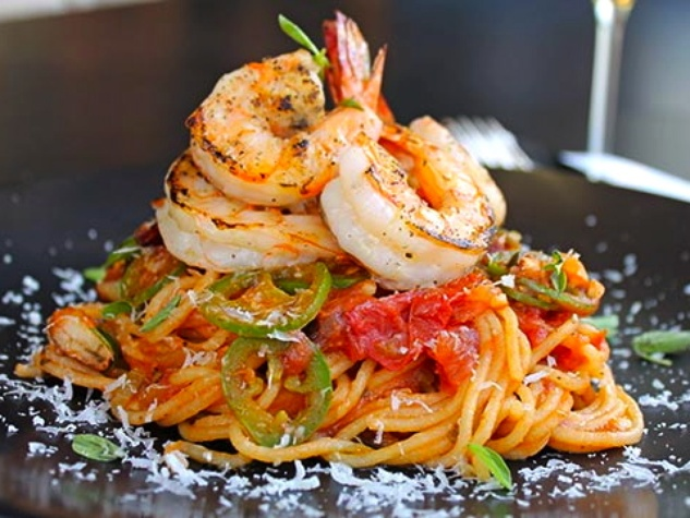 Houston, Fieldings Kitchen + Bar, July 2015, Spaghetti-Diabolique