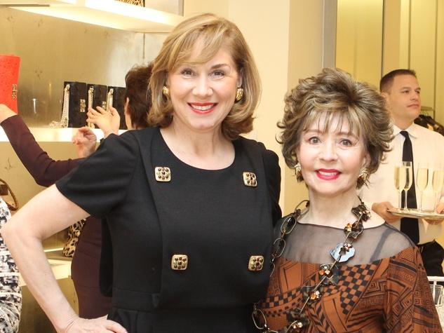 News_Houston Grand Opera_Valentino luncheon_March 2012_Denise Bush Bahr_Barbara LeGrange