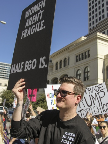 Women's March Austin Ian Orthy
