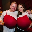 14 Ryan Elkins and Michelle Kaltenbach at the CultureMap Halloween party at Mr. Peeples October 2013