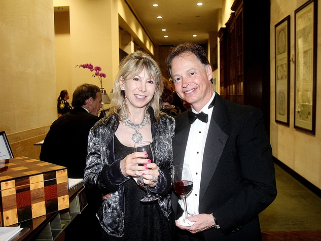 Carla and Rob Leslie at the Da Camera Gala April 2014