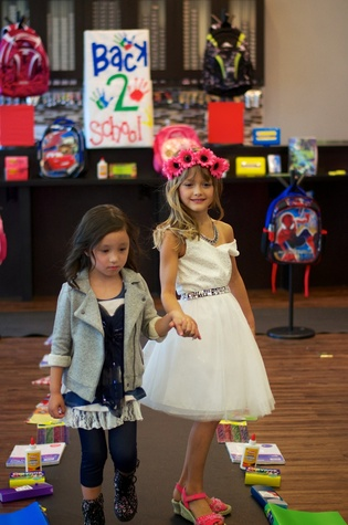 News, Shelby, Crimestoppers Kids Fashion Show, August 2014, London Hastings and Maddie Pastor
