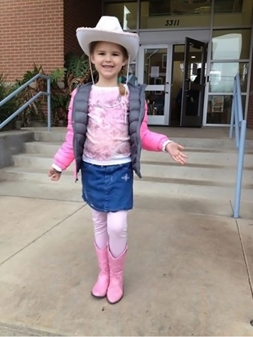 Go Texan Day February 2014 from Lily
