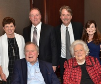 Houston, Bush Library Foundation dinner, November 2017