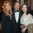 21 Gracie Cavnar, left, with Albert and Ann Chao at the Inprint Ball February 2015