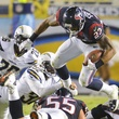 Arian Foster Texans Chargers jump