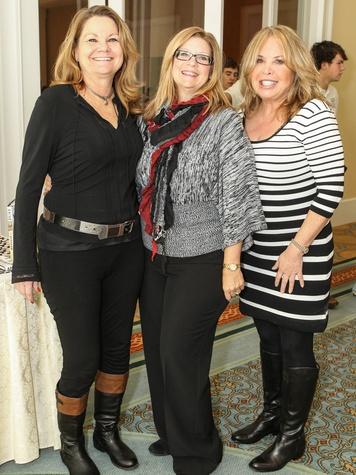 Carla Hatcher, Debbie Garrett and Cynthia Russell Doran, CPPC Luncheon