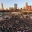 Auditorium Shores during SXSW in Austin, TX.