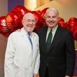 9595 Dr. David Poplack, left, and Mark A. Wallace at the Lester and Sue Smith Clinic dedication at Texas Children's Hospital May 2014