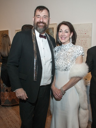 08, CAM gala, March 2013, Bill Arning, Susie Criner
