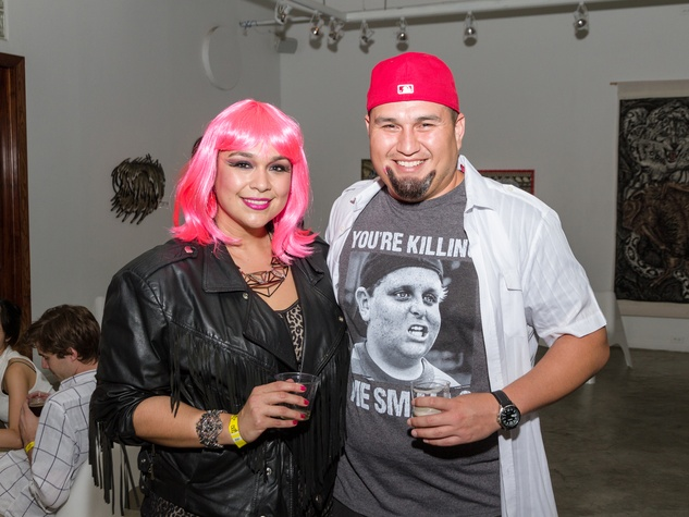 2981 Natalie Alfaro and Chris Gonzales at Party Like a Rock Star benefiting Planned Parenthood August 2014