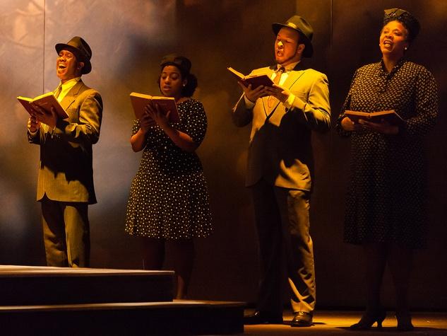 11 Houston Grand Opera A Coffin in Egypt March 2014 Gospel Chorus with Cheryl D. Clansy, Laura Elizabeth Patterson, James M. Winslow, Jawan CM Jenkins