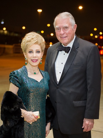 14 Margaret Alkek Williams and Jim Daniel at HGO Concert of Arias February 2014