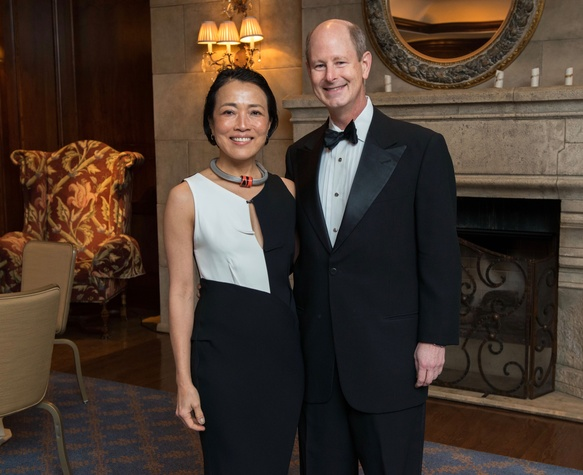 Inprint Poets & Writers Gala 2018:Inprint Ball Chairs Chinhui Juhn and Eddie Allen