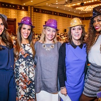 PlayBingo Ladies Luncheon Colleen McCarthy, Christa Mitzkat, Katrine Formby, Terry Matthews, and Yanelys Thompson October 2015
