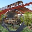 Saint Arnold beer garden rendering