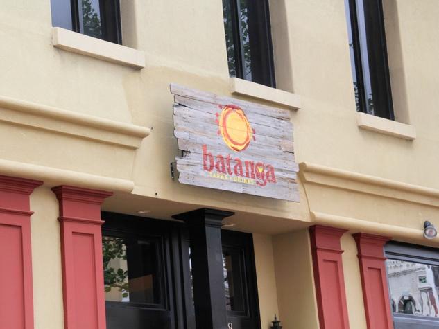Batanga, bar, April 2013, Sign