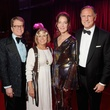 Dean and Jane Gladden with chairs Florence and Tom Langford at the Alley Theatre Ball