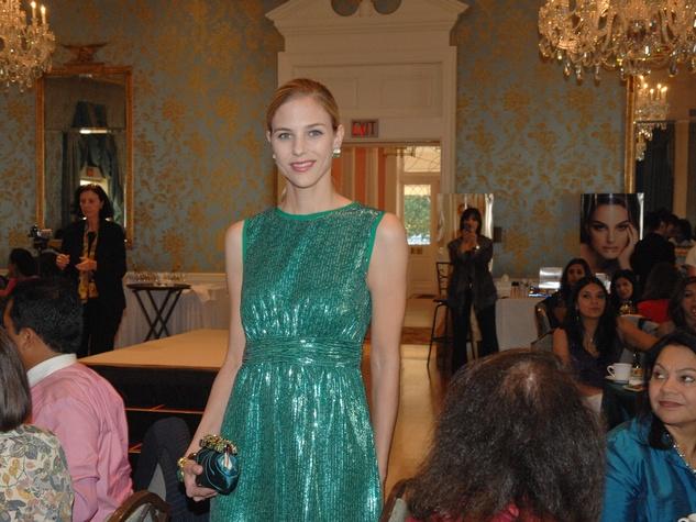 News_Dior Pratham luncheon_December 2011_model_Saks Fifth Avenue