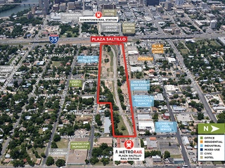 Plaza Saltillo map redevelopment