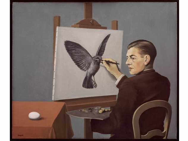 The Menil Magritte The Mystery of the Ordinary February 2014 Clairvoyance